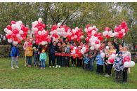 День города с «Жилфондом»: сотни шаров раздали на улицах Барнаула
