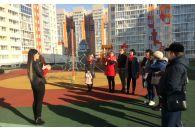 Экскурсия «Жилфонда» в ЖК «Матрёшки»